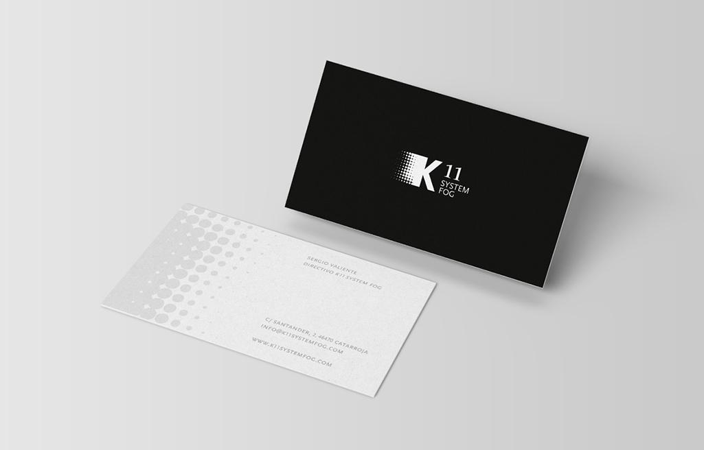 Diseño de logotipo para K11 System Fog