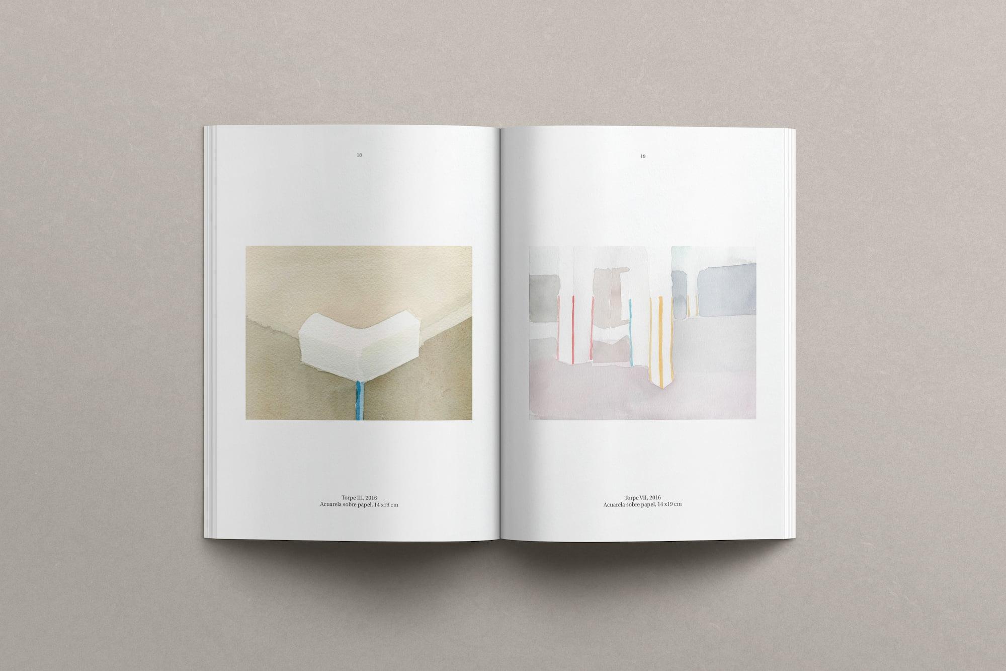 Diseño editorial catálogo obra_ Mercedes Mangrane 7