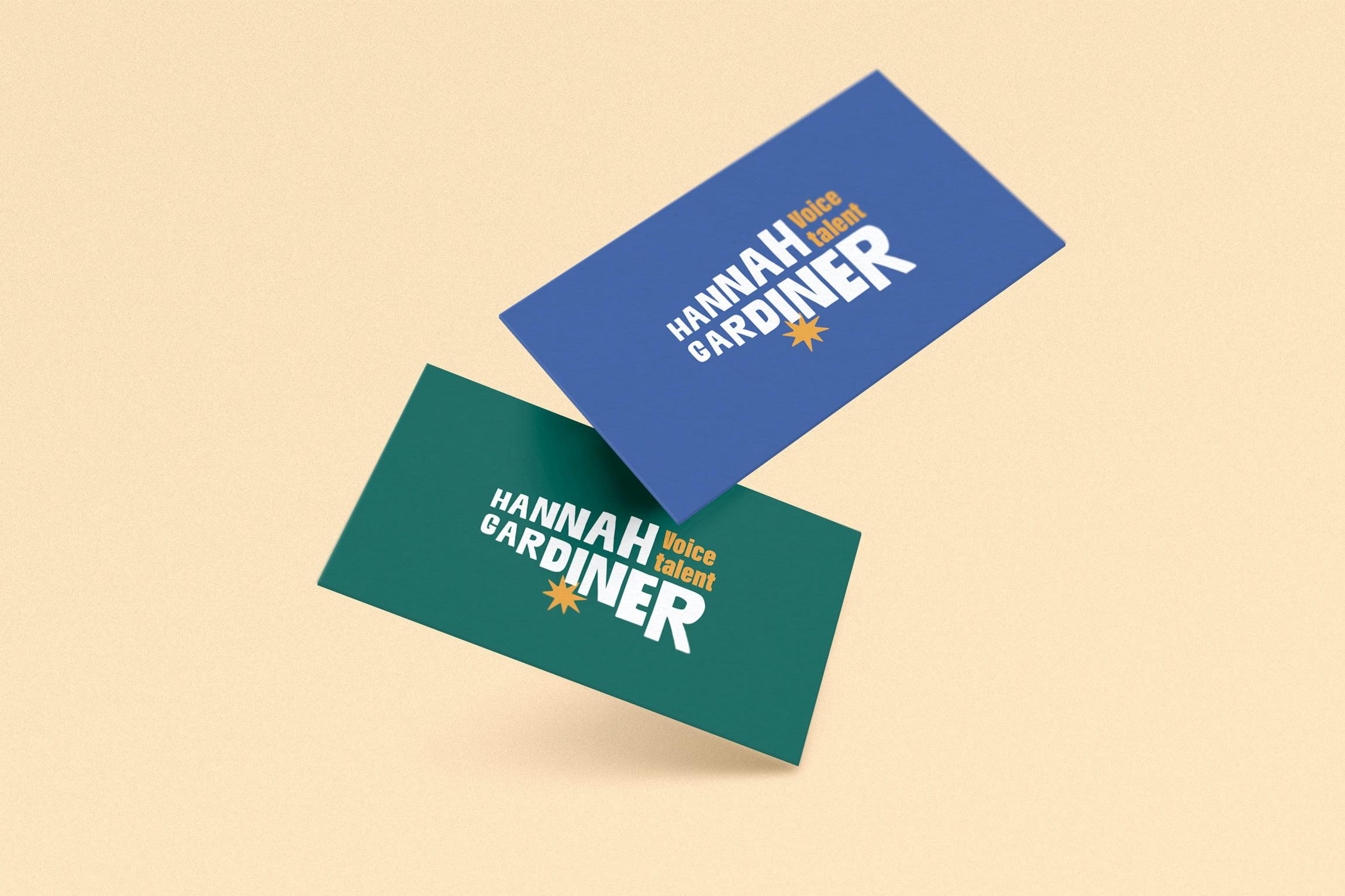 HANNAH GARDINER diseño de logotipo valencia